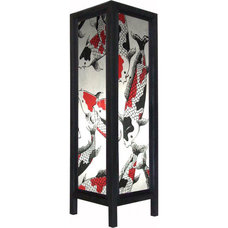 Asian Table Lamps by Oriental Decor