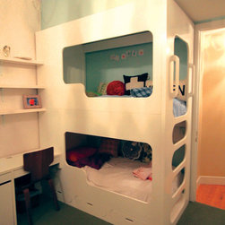 Bunk Bed - Twin Size Bunk Bed
