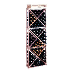 Wine Cellar Innovation - Traditional Series 132-Bottle Open Diamond Cubes Wine Rack Multicolor - TR-UN-OD - Shop for Wine Bottle Holders and Racks from Hayneedle.com! The Traditional Series 132-Bottle Open Diamond Cubes Rack is designed for maximum storage space efficiency. This wine rack is made of Redwood which is naturally resistant to humidity decay and mildew. The natural variations of Premium Redwood stand out with an attractive variety of colors from white to pink to dark purple swirled and streaked together. The storage compartments are partial bottle depth (8.75 inches) for easy access. This storage rack has open sides and is 1 column wide by 3 cubes high. Each cube is comprised of 4 quadrants holding 10 bottles each. With room for a case on top this rack has a total bottle capacity of 132. Crown and Base Molding Trim Kit is available for this product and can be purchased in the next step. See the below Related Items for more details. About Wine Cellar InnovationsWine Cellar Innovations the world's foremost designer and manufacture of custsom wine cellars and wine racks. Founded more than 20 years ago Wine Cellar Innovations continues to offer creative and functional wine storage solutions while expanding new horizons in refrigeration 3D color design and 3D virtual reality walkthroughs. Wine Cellar Innovations is located in Cincinnati Ohio.