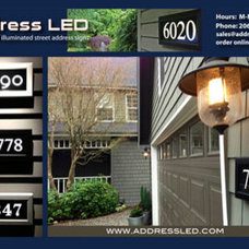 House Numbers by Address LED