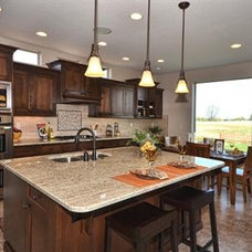 Traditional Kitchen by Boise Hunter Homes