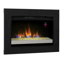 ClassicFlame - ClassicFlame 26-Inch Electric Fireplace Insert with Glass Embers & Flush-Mount C - Features: