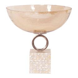 Howard Elliott - Howard Elliott Luster Glass Bowl - Large - Large luster glass bowl