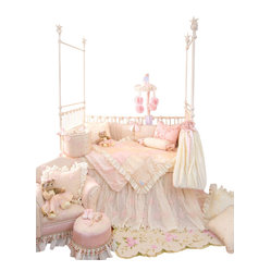 Ava Crib 3-Piece Bedding Set by Glenna Jean