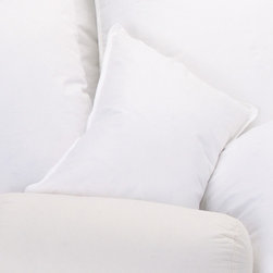 Ogallala Comfort Company - 800 Hypo-Blend Boudoir Pillow - Decorative pillows add luxury and comfort to your home. Sink in, relax and enjoy your surroundings, anywhere you are. Our Hypodown blend is four parts white goose down and one part Syriaca clusters, a fiber from the milkweed plant. The two work hand in hand to give you the best of their natural abilities: warmth and comfort. Down clusters are the soft fluff under feathers that keep birds comfortable no matter what the climate. In order to measure nature's performance, down is rated by two distinct values, Percent Down Cluster and Fill Power. Features: -Pillow. -Hypodown 800 is the finest down available with 95% Goose Down Cluster and only 5% Small Feathers. -Ogallala down is Hungarian white goose down - the top down you can buy. -Made in United States.