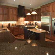 Traditional Kitchen by Mitchell Barnett Architect, PC