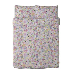 RENATE FLORA Duvet cover and pillowcase(s) - Duvet cover and pillowcase(s), multicolor