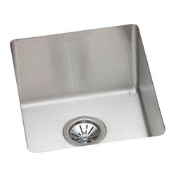 Elkay - Elkay Avado EFRU131610 Single Basin Undermount Kitchen Sink Multicolor - 541416 - Shop for Kitchen from Hayneedle.com! Unobtrusive in design the simple beauty of the Elkay Avado EFRU131610 Single Basin Undermount Kitchen Sink adds a stylish shine that finishes your space. The convenient undermount style features a sleek clean look ideal for your well-appointed home. Constructed of stainless steel with sound-deadening properties to reduce noise.About Elkay Elkay sinks faucets and accessories are the American standard. Elky has been family owned since 1920. What started as a father and son sink manufacturing company on the north side of Chicago has grown to become an international company and America s number one selling stainless steel sinks company as well as a name well-known for top-quality faucets water coolers and drinking fountains. Elkay is the professional s choice.