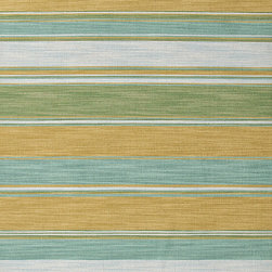 Jaipur Rugs - Flat Weave Stripe Pattern Green Wool Handmade Rug - PV08, 9x12 - Bold color is the name of the game with Pura Vida. This beautiful collection of durable, reversible flat-woven dhurries combines the classic simplicity of linear patterns with a decidedly modern palette for a look that's at once casual and sophisticated.