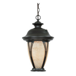 Designers Fountain - Designers Fountain Westchester Energy Efficient Traditional Outdoor Hanging Lant - With a bold and classic design, the Westchester hanging lantern will bring sophistication to your outdoor deck or patio. A warm Amber Glass shade is married to an eye-catching dark Bronze frame. Hang this outdoors and illuminate the dark!