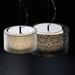 Valentina C Pendant Lamp By Modiss Lighting - Valentina by Modiss is a series of superb, majestic, pendant and table lights that are a jewel in itself.