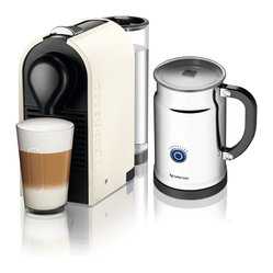 Nespresso U C50 Pure Cream/Aero+ Bundle