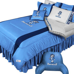 Store51 LLC - NCAA North Carolina Tarheels Twin-Single Bed Comforter Set - FEATURES: