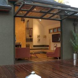 Home w/Glass Bi-Fold Door -