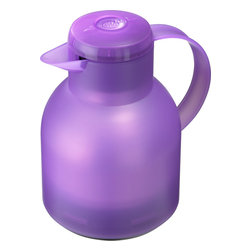 Frieling - Samba Quick Press Insulated Carafe - Keep your morning coffee or afternoon ice tea at an optimal temperature for hours on end. This wonderfully insulated carafe has a fresh translucent appearance and features a one-touch open/close mechanism.