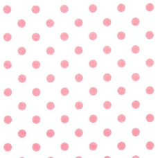 Fabric white Michael Miller flannel fabric pink polka dots