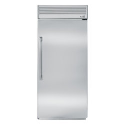 """GE Monogram - GE Monogram® 36"""" Built-In All Freezer - Exquisitely styled and immensely usable, Monogram all-refrigerators and all-freezers are ideal additions to busy homes. Together, they become the ultimate refrigeration system wherever they're located. Monogram all-refrigerator and all-freezer models come equipped with an advanced temperature management system that readily adapts to your specific food-preservation needs."""