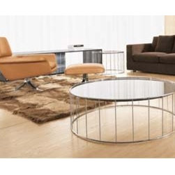 Minotti Caulfield Table - The combination of metal and wood is an unbeatable pairing when it comes to furniture design. These tables are a great way to introduce both into your living room without causing any imbalance.