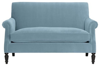 Traditional Loveseats by Crate&Barrel