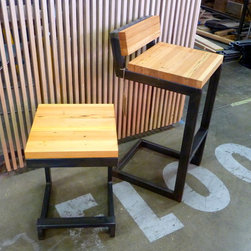Barstools (table height and bar height with back) -