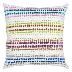 """Rizzy - Rizzy T04336 Pillow, 20"""" x 20"""" - Pillow with Hidden Zipper"""