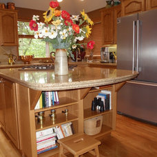 Traditional Kitchen by American Marble & Granite