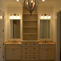 traditional bathroom by T-Olive Properties