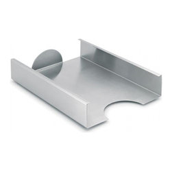 Blomus - AKTO Stainless Steel Filing Tray - The AKTO Filing Tray by Blomus combines style and function like no other office accessory. Crafted from German-engineered stainless steel, the desk tray has a sleek matte finish that compliments any office space with class and sophistication. Bold and beautiful, this stackable tray is a timeless office piece that will create an organized work environment for many years to come.