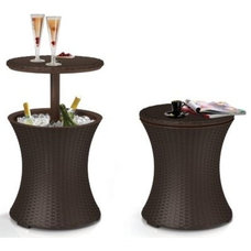 Contemporary Outdoor Pub And Bistro Tables by Amazon