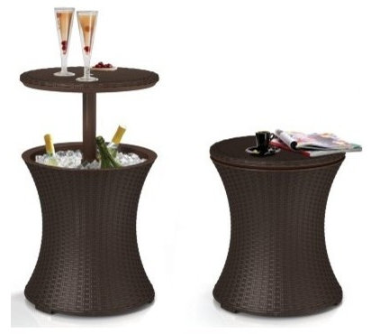 contemporary outdoor tables by Amazon