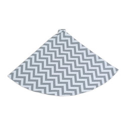 Chooty & Co. - Chooty & Co. Chevron Design Gray and White Tree Skirt - TS513013 - Shop for Holiday Ornaments and Decor from Hayneedle.com! About Chooty & Co.A lifelong dream of running a textile manufacturing business came to life in 2009 for Connie Garrett of Chooty & Co. This achievement was kicked off in September of '09 with the purchase of Blanket Barons well known for their imported soft as mink baby blankets and equally alluring adult coverlets. Chooty's busy manufacturing facility located in Council Bluffs Iowa utilizes a talented team to offer the blankets in many new fashion-forward patterns and solids. They've also added hundreds of Made in the USA textile products including accent pillows table linens shower curtains duvet sets window curtains and pet beds. Chooty & Co. operates on one simple principle: What is best for our customer is also best for our company.