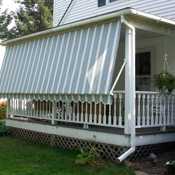 Retractable & Drop Arm Awning Installations - Various East Coast Shutters & Awnings Installations