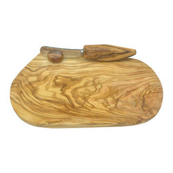 "Berard - Berard Olive Wood Craftsman's Quality Butter Dish and Knife - 5.7"" x 7.2"" - For best results and to maintain the beauty of the wood, hand wash with a mild detergent and dry thoroughly. Features: -Set include: butter dish and knife. -Made from olive wood. -Light wipe of food safe mineral oil/beeswax can be used to restore the wood to its original luster. -Do not put in the dishwasher. Dimensions: -1.5"" H x 5.7"" W x 7.86"" D, 0.44 lb."
