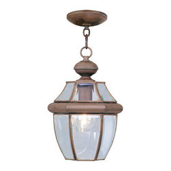 Livex Lighting - Livex Lighting 2152 Monterey 1 Light Outdoor Mini Pendant - Product Features: