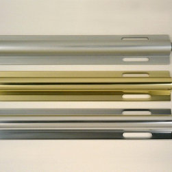 Valet Rods- the accessory your closet must have - classic aluminum valets in polished, gold or brushed aluminum