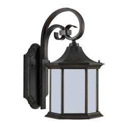 Sea Gull Lighting - Sea Gull Lighting 89137BLE Ardsley Court 1 Light Energy Star Outdoor Lantern Wal - Specifications: