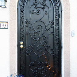 Wrought Iron Security Doors - www.artisticiron.com