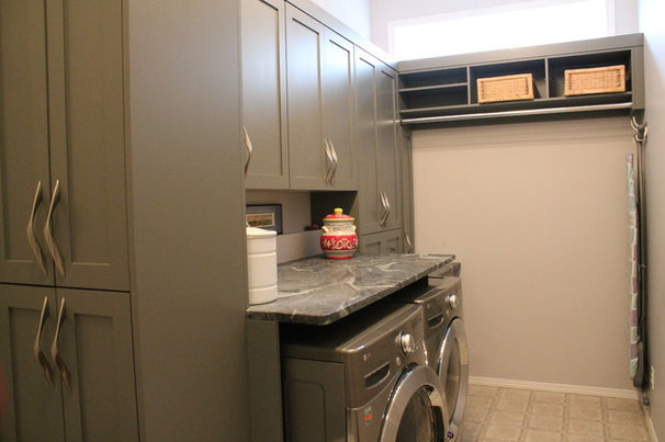 Contemporary Laundry Room by The Design Studio Inc.