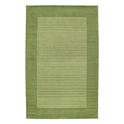 """Kaleen - Kaleen Regency Regency (Celery) 9'6"""" x 13' Rug - Regency offers an array of fourteen beautifully elegant subtle tones for today's casual lifestyles. Choose from rich timeless hues shaded with evidence of light brush strokes. These 100% virgin wool, hand loomed rugs are sure to add comfort and warmth to any setting. Hand crafted in India."""