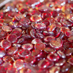 All Backyard Fun - Sangria Luster Firebeads For Fire Pit, Fire Bowl, or Fire Table - 10 lb. - All Backyard Fun Firebeads are a dazzling addition to your gas fire pit or fireplace. Made of glass, Firebeads are a fun alternative to traditional fireplace and fire pit fillers and will be a centerpiece of conversation for your backyard social events! With great color, you'll always have look you want for with your fire pit or fireplace. Firebeads are uniform in size and measure approximately 1/2 inch per piece and are sold by the pound. Transform your backyard fire pit with Firebeads!