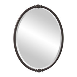 Murray Feiss - Murray Feiss Jackie Transitional Oval Mirror X-BRO9111RM - Murray Feiss Jackie Transitional Oval Mirror X-BRO9111RM