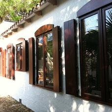 Mediterranean Windows by Deerfield Builders Supply
