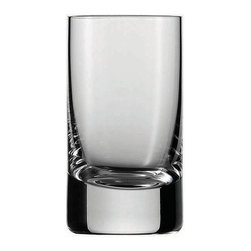 Frontgate - Set of Six Schott Zwiesel Iceberg Shot Glasses - Holds 1-1/2 oz.. Designed exclusively by Schott Zwiesel. Break resistant with added strength at the rim and bowl. The hardest, most brilliant crystal glass in the world. Remarkable clarity, brilliance, and luster. Our Schott Zwiesel Iceberg Shot Glasses offer the look and weight of glass without the fragility. By replacing the lead content with titanium and zirconium, these refined glasses resist chips, cracks, and scratches. This technology creates lasting durability and longer life for the barware, without compromising the aesthetic quality of the glasses. Tritan Crystal is used by renowned sommeliers, restaurants, cruise lines, and resorts worldwide.  . . . . . Proven through independent testing to be fully dishwasher safe. No lead content. Made in Germany.