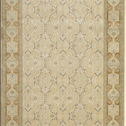 Rugs America - Verona Garden Cream Rectangular: 5 Ft. 3 In. x 7 Ft. 10 In. Rug - - Ancient royalty meets modern technology with the creation of Verona by Rugs America. Sophisticated and elegant traditional patterns have been redeveloped in a fine machine woven quality to satisfy the most advanced decorative tastes without having to spend a fortune. Superbly dense, plush, rich and durable, the Verona collection is a floor covering masterpiece developed with unprecedented taste and elegance. Made in Turkey with extra durable synthetic fibers for long lasting sustainability.  - Machine Made 1. 1 million points, Heat-Set Poly, No Fringe  - Pile Height: 0. 563 Rugs America - 23681