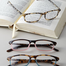"""kate spade new york - kate spade new york """"Jodie"""" Readers - Fashion and function collide in the best possible way with these sleek and stylish readers from Kate Spade. Made of acetate. Select color and power when ordering. Keep in case (included) when not in use. 6.5""""W x 3.5""""D x 3.5""""T. Imported."""