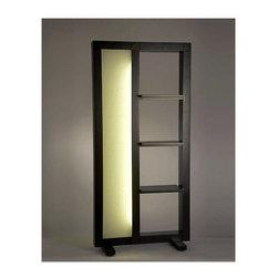 Nova Lighting - Nova Lighting 11331 71.5 Inch Transitional Ambient Lighting Caddy Shelf Screen - 71.5 Inch Transitional Ambient Lighting Caddy Shelf Screen with Cream Fabric DiffusorFeatures: