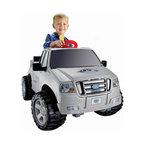 Fisher-Price - Power Wheels Ford F-150 (6V) Electric Ride-On - The F-150 is a Super 6 Volt Power Wheels vehicle patterned after Ford's new F-150 design. This vehicle will deliver off-road driving, a longer body than the Dodge Ram and storage in the back to complete the role play. Tons of fun with safety in mind, your child is sure to love this ride-on vehicle. Features: -*This item is not available for sale to customers in Puerto Rico*. -6V Battery included. -Recommended for ages 2 and up. Looking for expedited shipping on this item? Please give our customer service team a call!