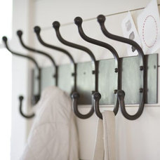Cast-Iron Row of Hooks