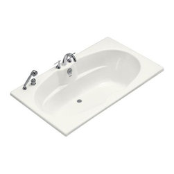 KOHLER - KOHLER K-1132-F-0 ProFlex 7242 Bath with Flange - KOHLER K-1132-F-0 ProFlex 7242 Bath with Flange in White