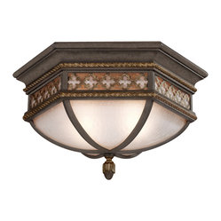 Chateau Outdoor Outdoor Flush Mount, 403082ST